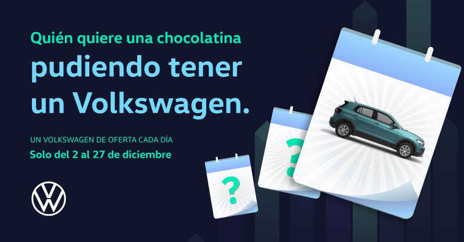 Calendario de Adviento de Volkswagen Tartiere